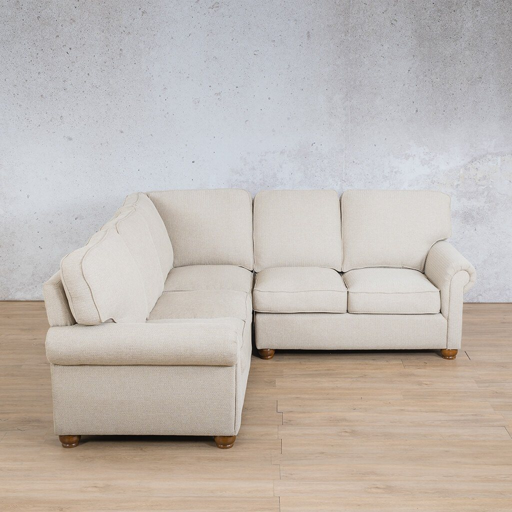 Salisbury Fabric Corner Couch | L-Sectional 5 Seater | Riverside-S | Couches For Sale | Leather Gallery Couches