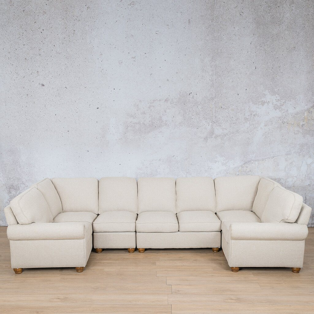 Salisbury Fabric Modular U-Sofa Sectional
