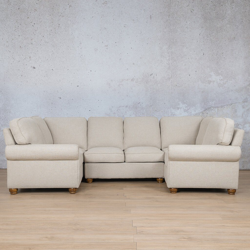 Salisbury Fabric Corner Couch | U-Sofa Sectional Couch | Riverside-S | Couches For Sale | Leather Gallery Couches