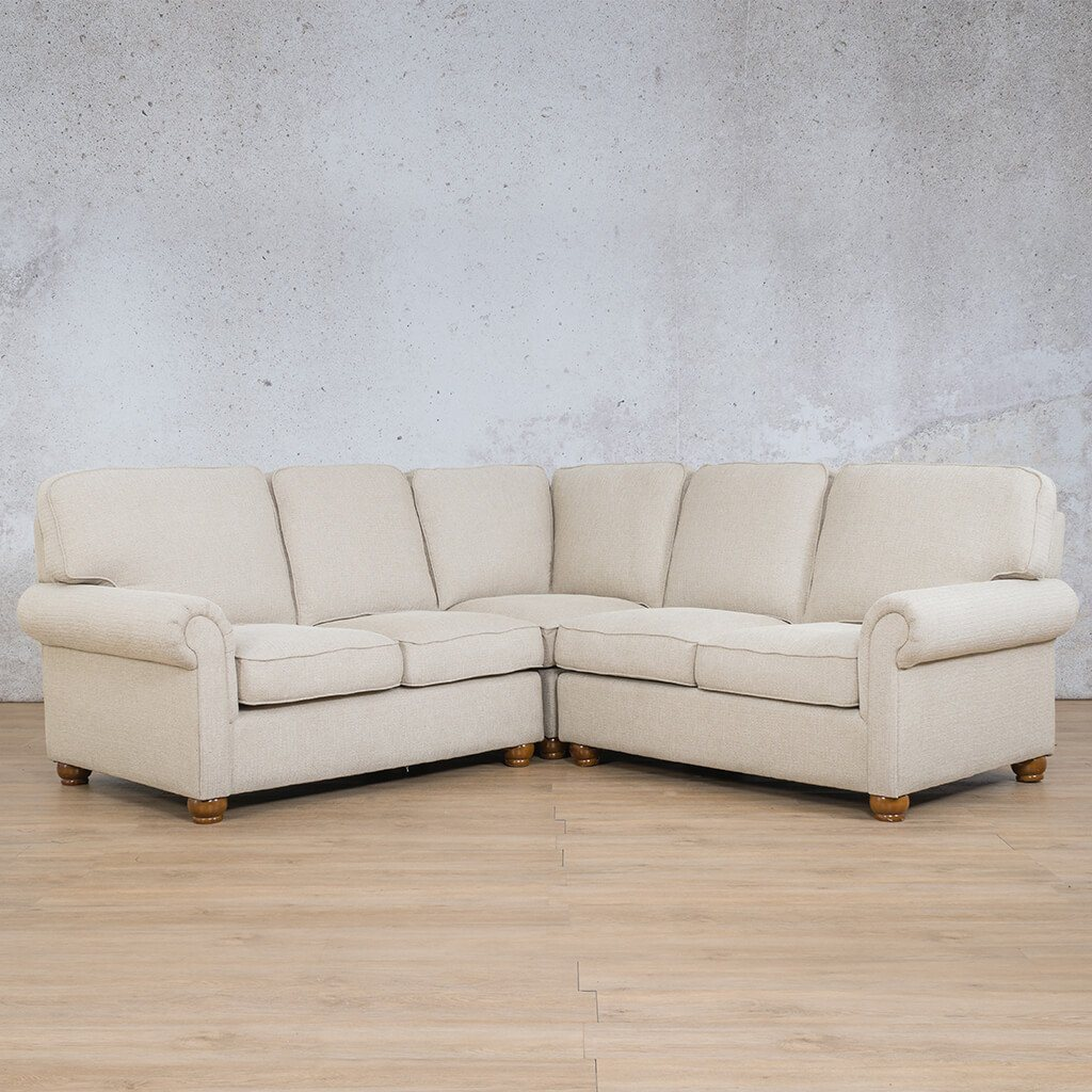 Salisbury Fabric Corner Couch | U-Sofa 5 Seater Sectional | Riverside-S | Couches For Sale | Leather Gallery Couches