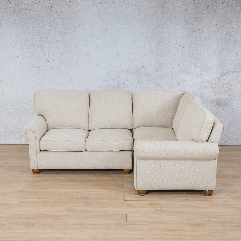 Salisbury Fabric L-Sectional 4 Seater - RHF