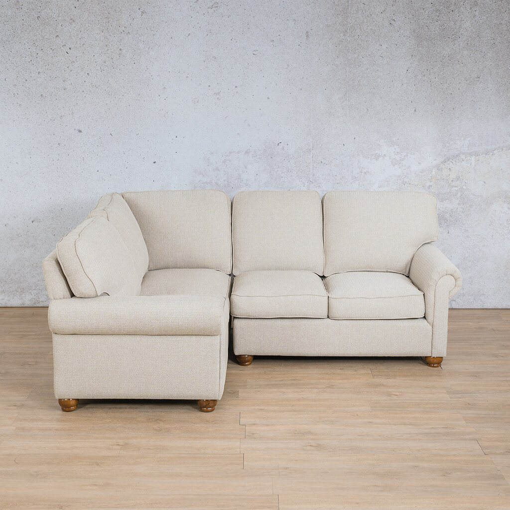Salisbury Fabric Corner Couch | L-Sectional 4 Seater-LHF | Riverside-S | Couches For Sale | Leather Gallery Couches