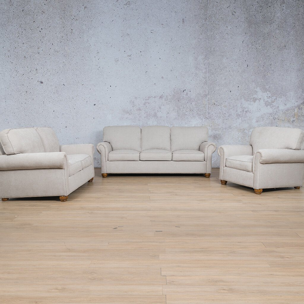 Salisbury Fabric Couches | 3-2-1 seater couch | Riverside S | Couches for Sale | Leather Gallery Couches