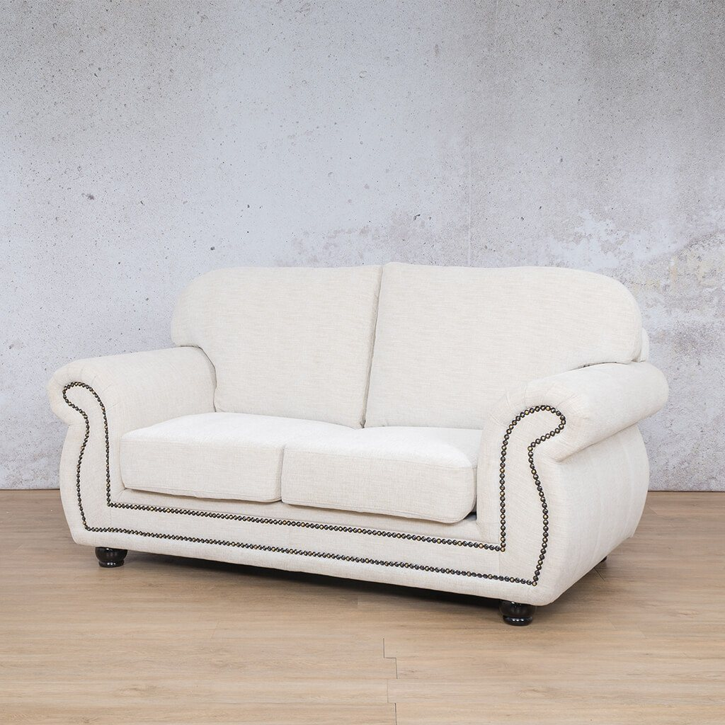 Isilo Fabric sofa suite | 2 Seater Couch  | Couches for Sale| Prismatic-I | Front Angled | Leather Gallery Couches