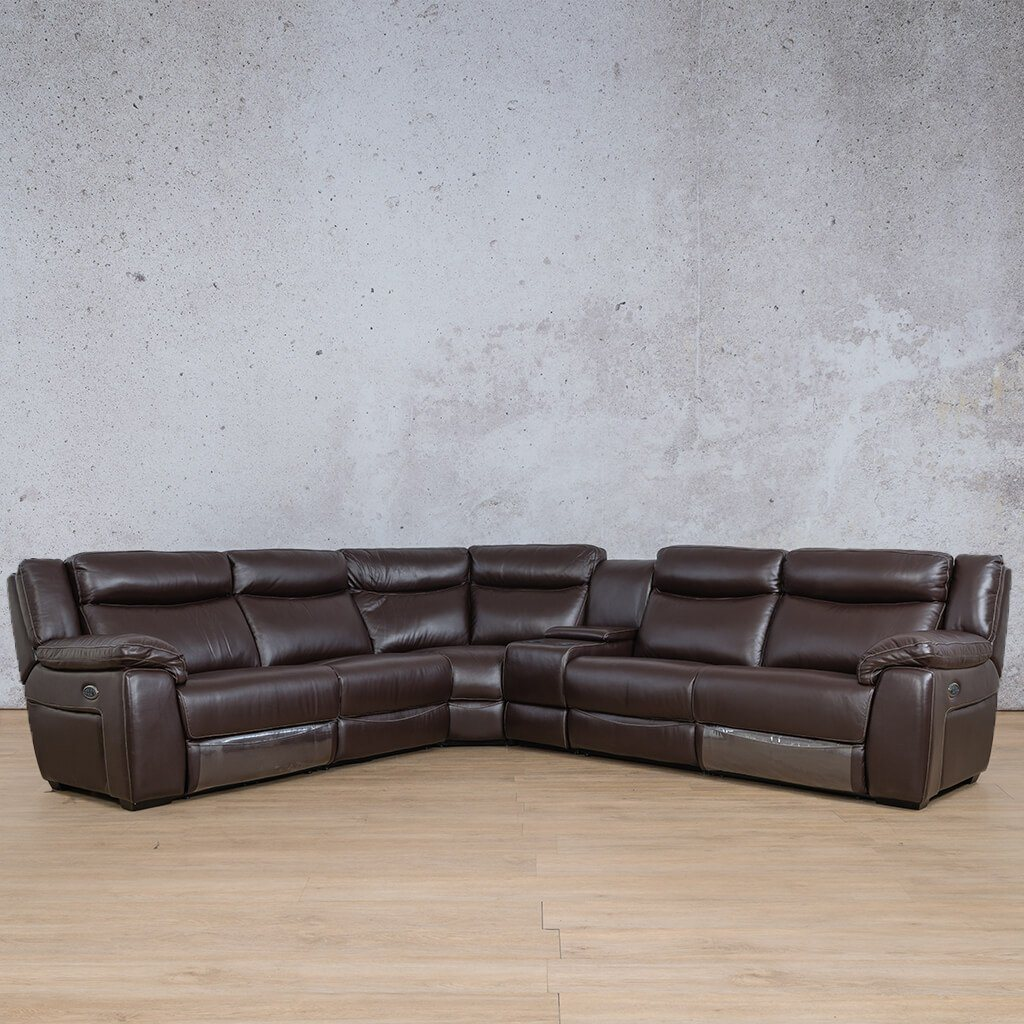 Montana Leather Corner Couch | Corner Couch | Choc-Mon | Couches For Sale | Leather Gallery Couches