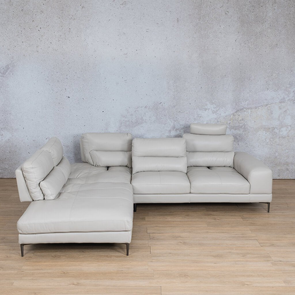 Madrid Leather Sectional