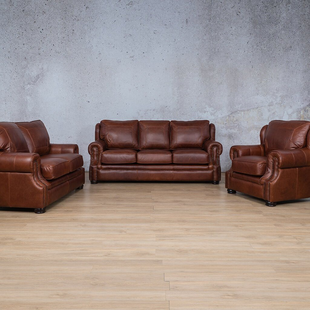 Highpoint Leather Couches | 3-2-1 Seater Couches | Couches for Sale | Odingo Bark-H | Leather Gallery Couches