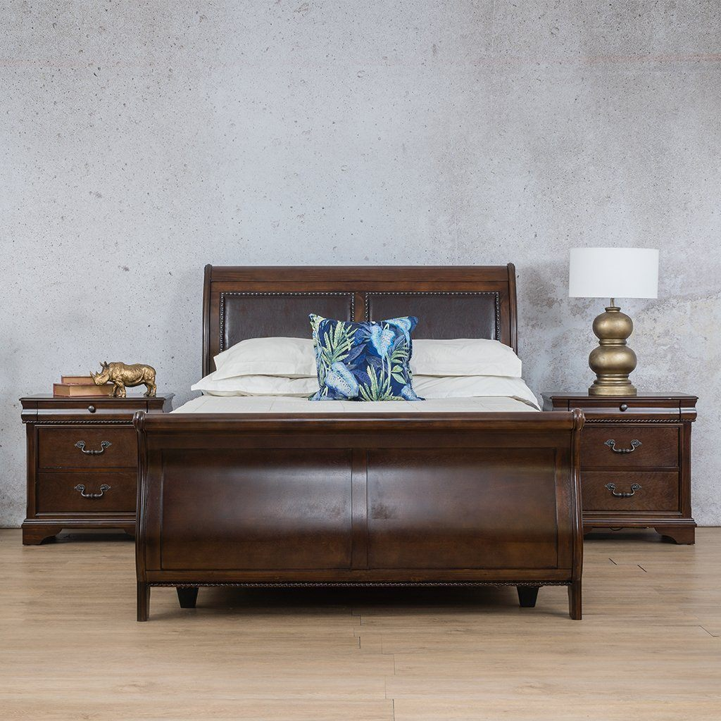 Princeton 3 Piece - (Queen Bed XL + 2x Pedestals)