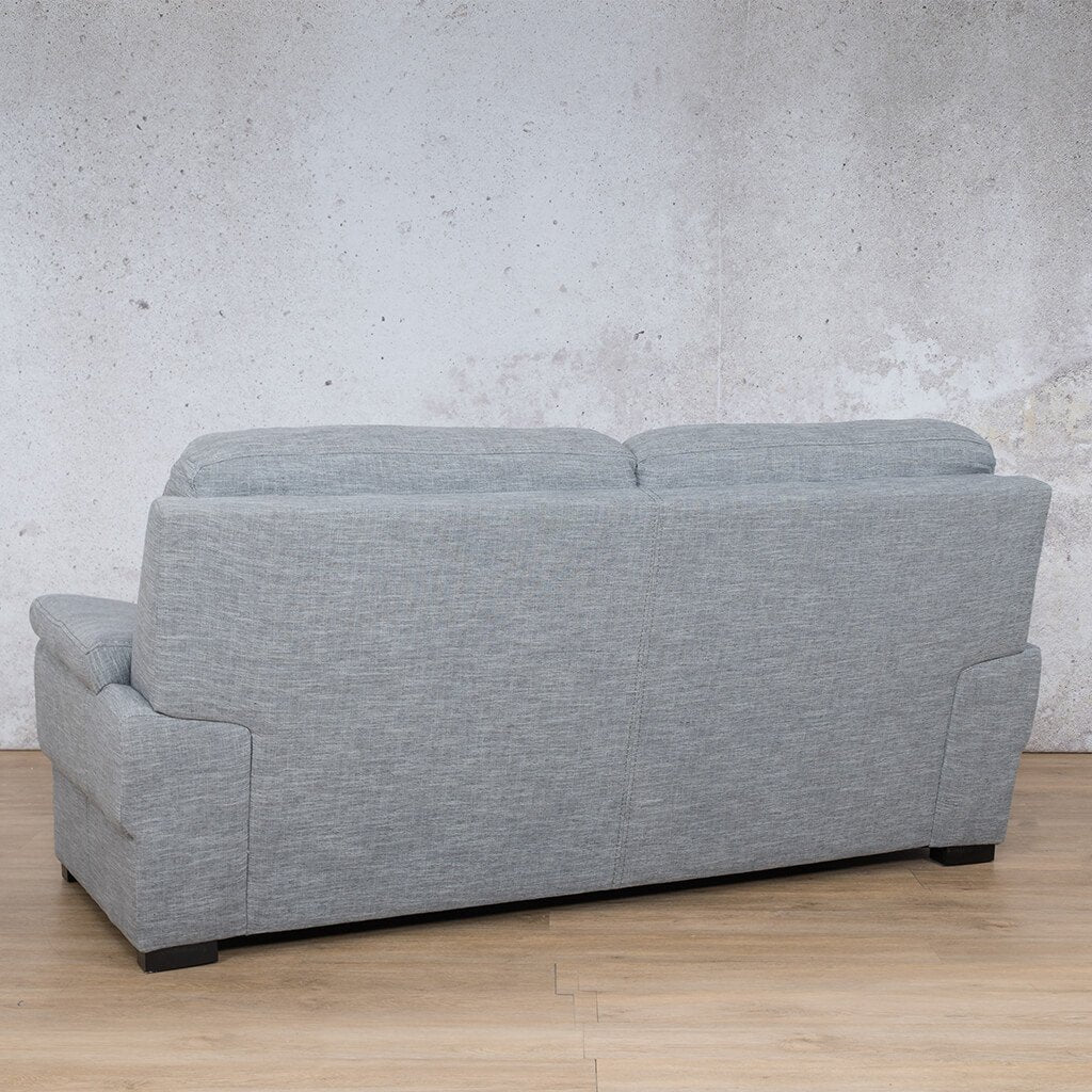 San Lorenze Fabric Couch | 3 seater couch | Mirage Grey | Back Angled | Couches for Sale | Leather Gallery Couches
