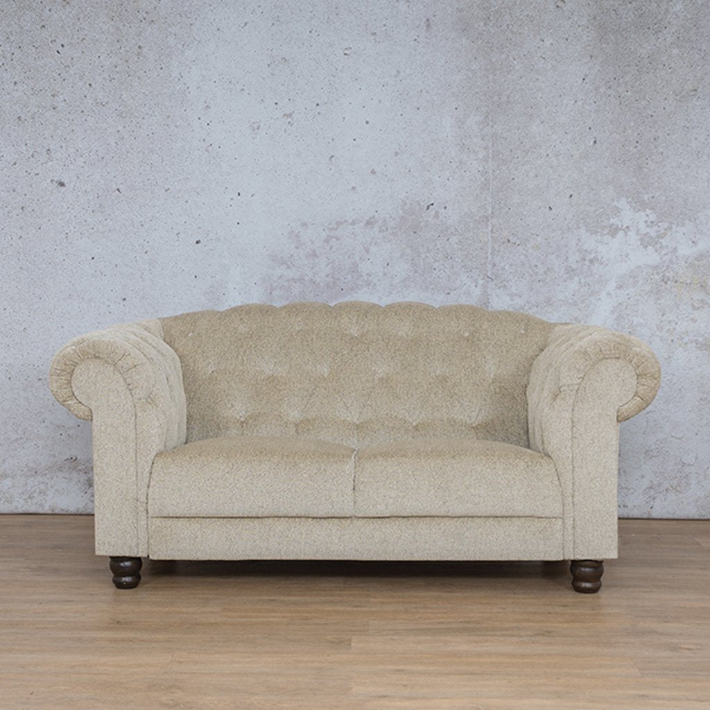 Tuscany Fabric Couch | 2 seater couch | Vanilla | Couches for Sale | Leather Gallery Couches