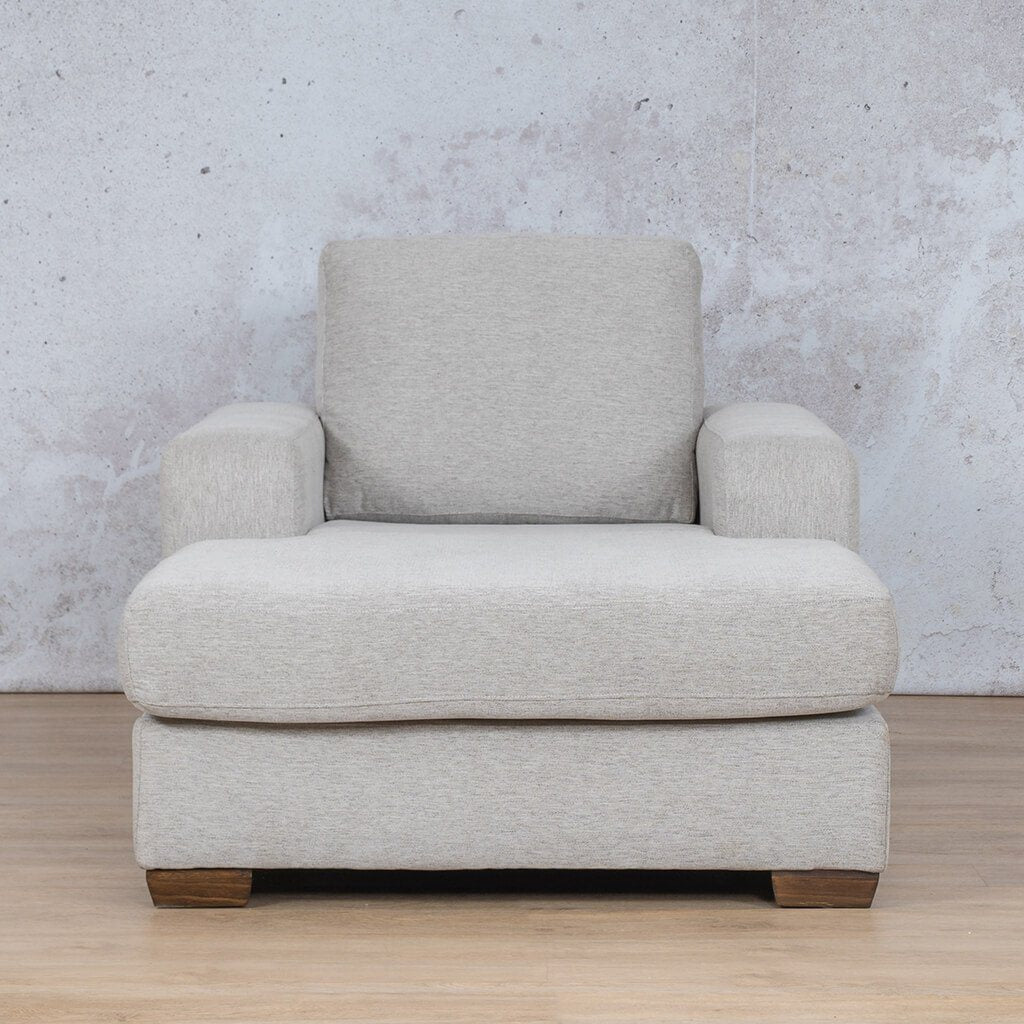 Stanford Fabric Corner Couch | 2 Arm Chaise | Pebble | Couches For Sale | Leather Gallery Couches