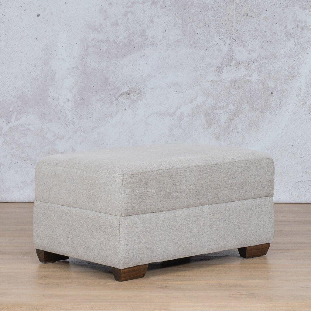 Stanford Fabric Ottoman | Leather Gallery