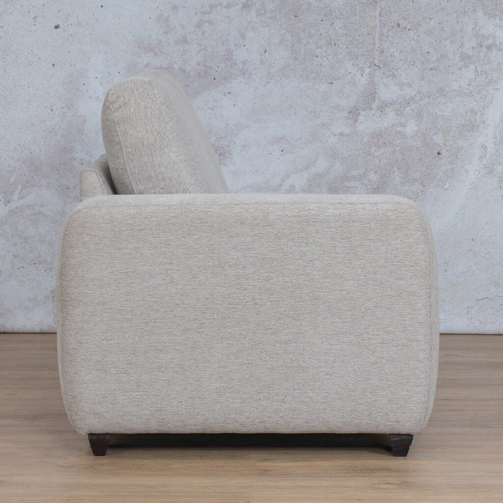 Stanford Fabric Corner Couch | Right Arm 1 Seater Couch | Pebble | Side | Couches For Sale | Leather Gallery Couches