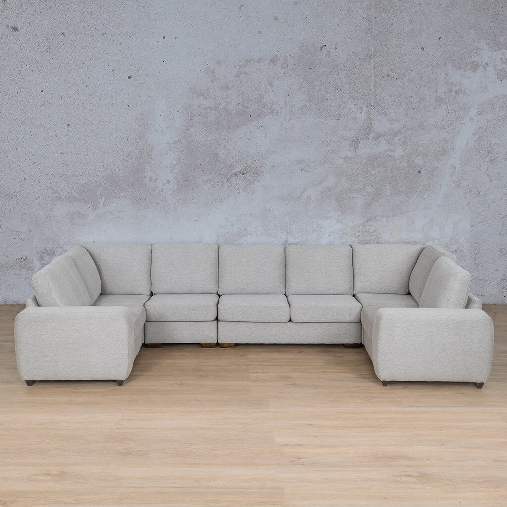 Stanford Fabric Modular U-Sofa