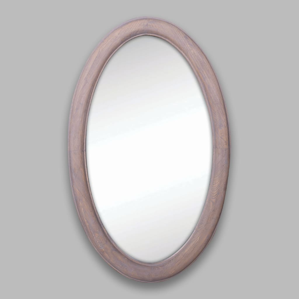 Liam Wooden Mirror | Leather Gallery