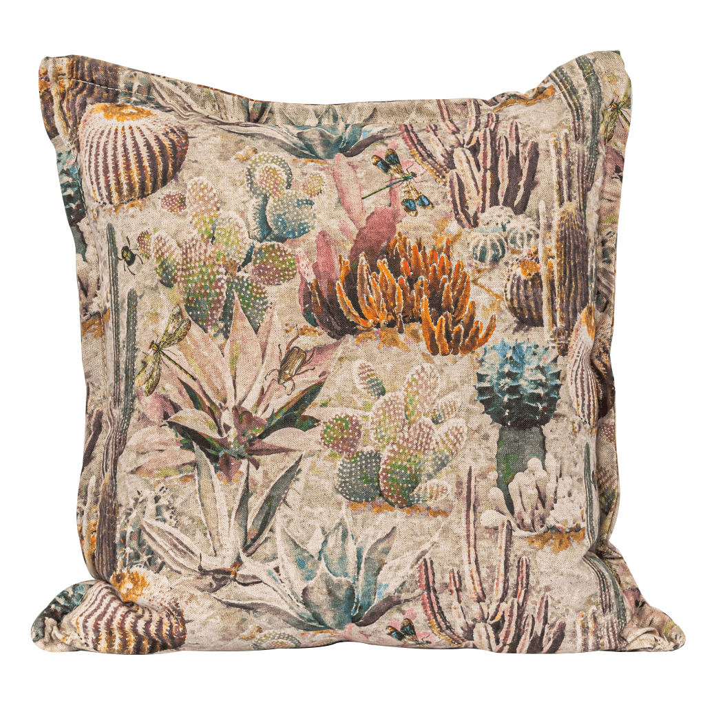 Midnight Gardens Cushion | LeatherGallery