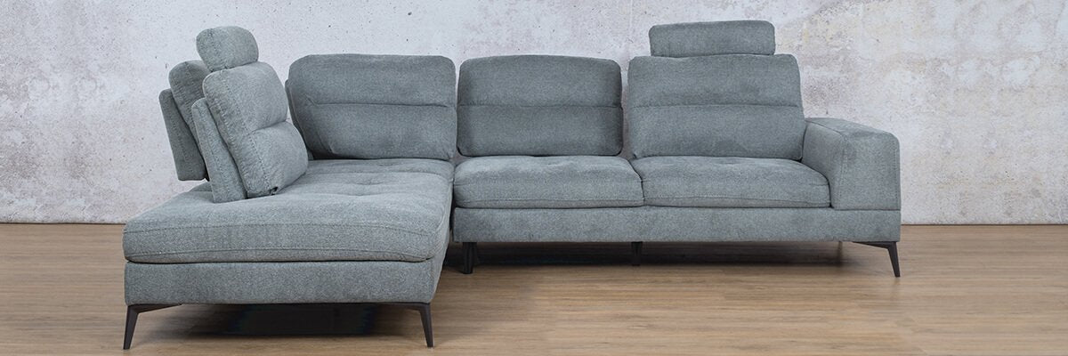 Malta Fabric Corner Sofa | RHF | Leather Gallery
