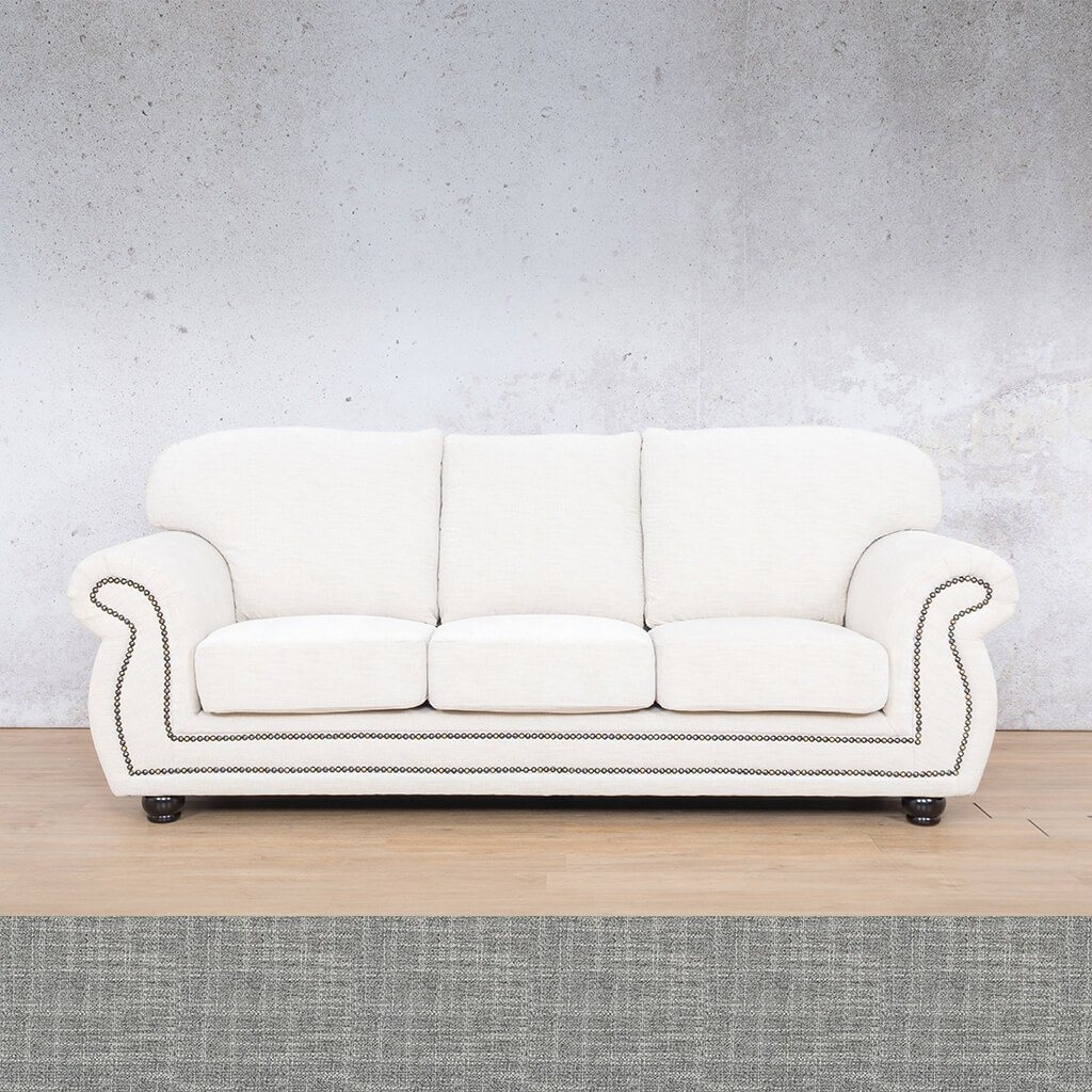 Isilo Fabric sofa suite | 3 Seater Couch  | Couches for Sale| Mirage Grey | Leather Gallery Couches