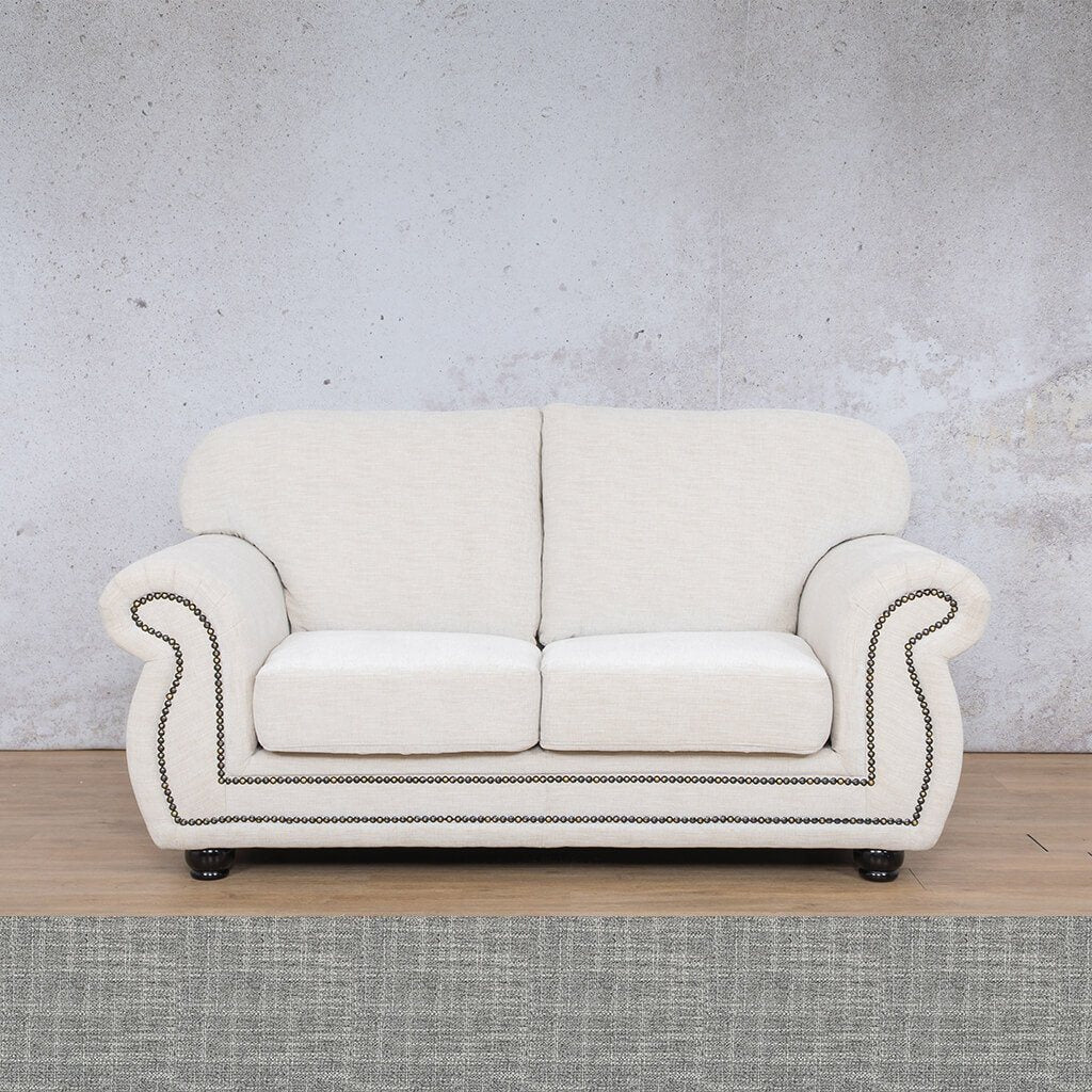 Isilo Fabric sofa suite | 2 Seater Couch  | Couches for Sale| Mirage Grey | Leather Gallery Couches