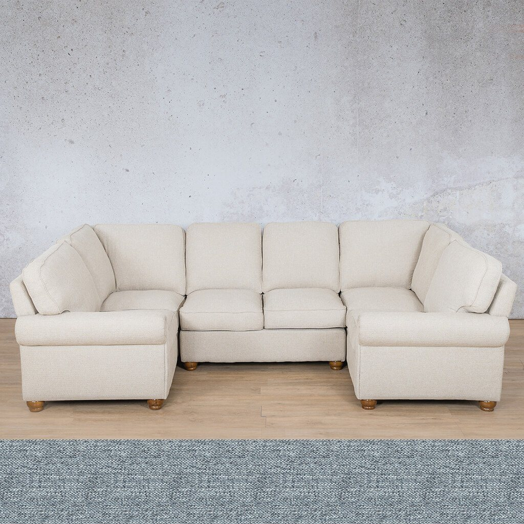 Salisbury Fabric U-Sofa Sectional
