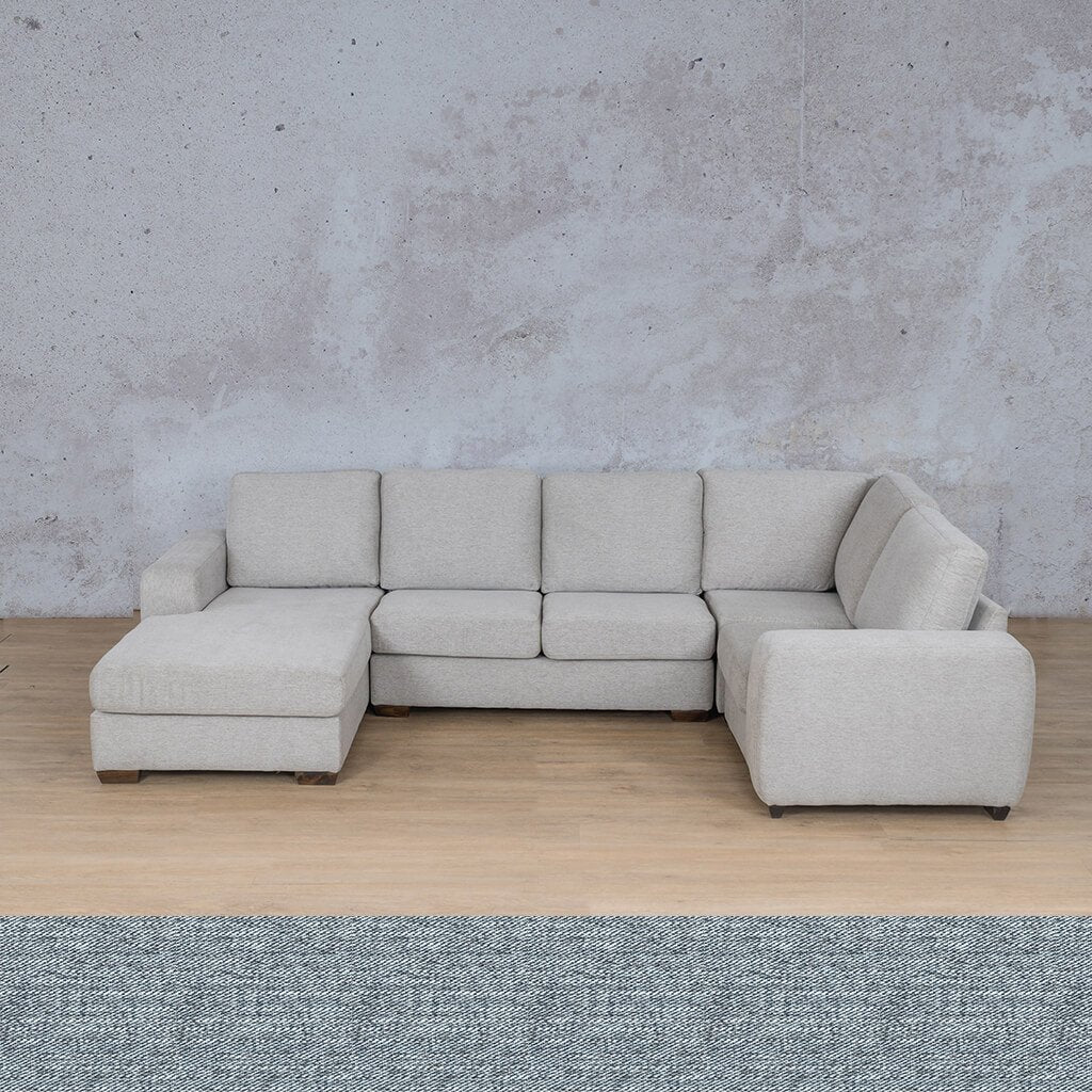 Stanford Fabric U-Sofa Chaise - LHF