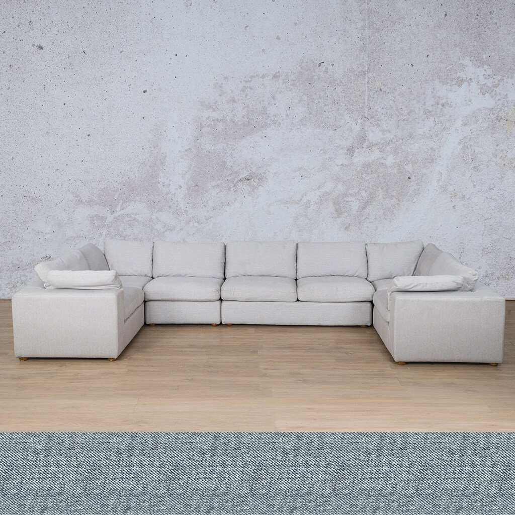 Skye Fabric Modular U-Sofa Sectional