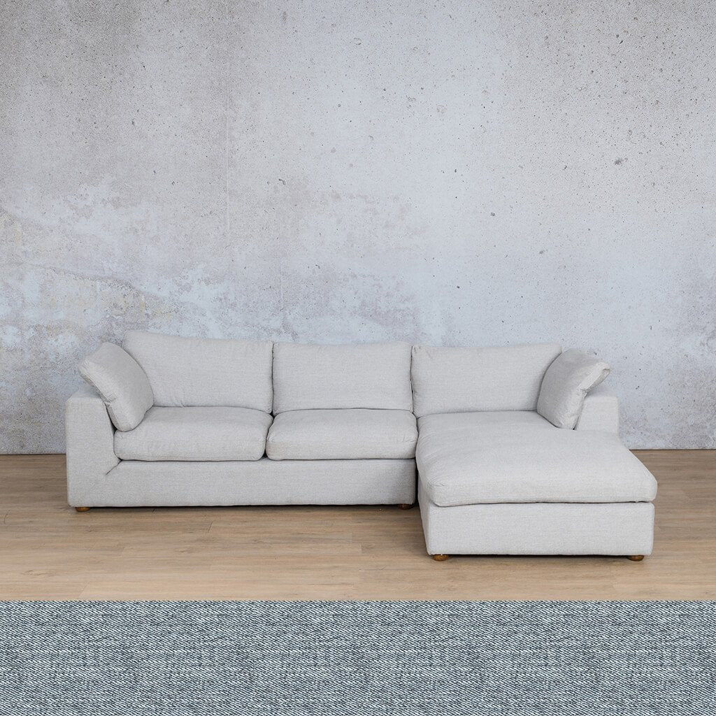 Skye Fabric Sofa Chaise Sectional - RHF