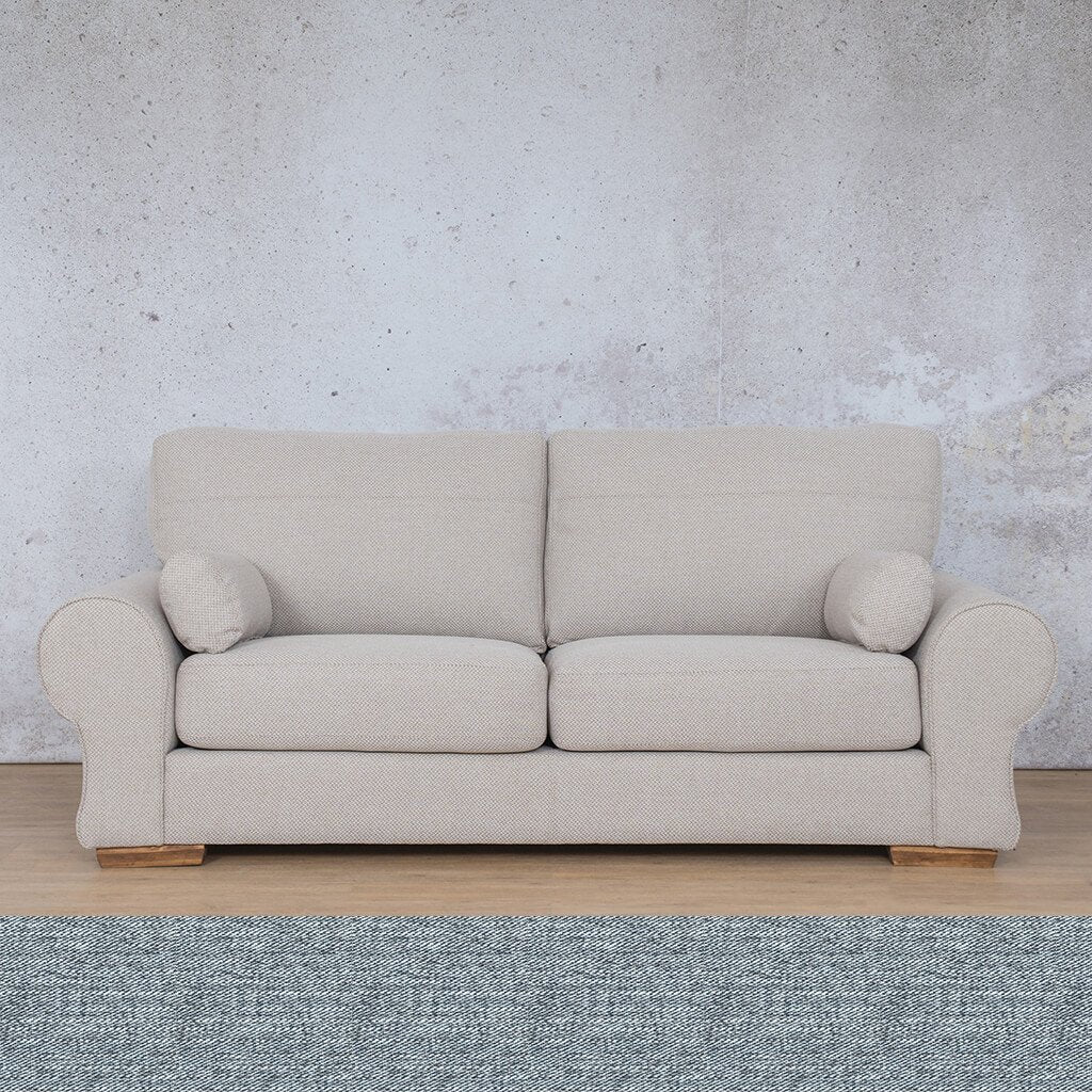 Carolina Fabric Couch | 3 seater couch | Navy | Couches for Sale | Leather Gallery Couches