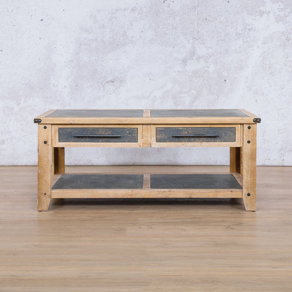 Strummer Coffee Table | Leather Gallery