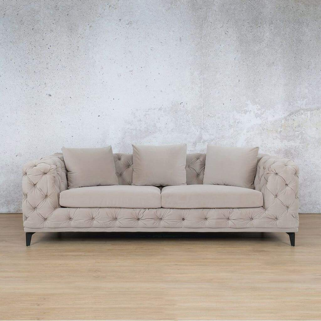 Oakland Fabric Couch | 3 seater couch | Beige-Oak | Couches for Sale | Leather Gallery Couches