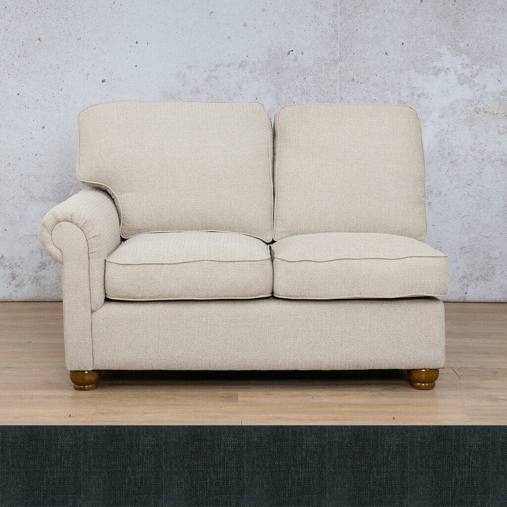 Salisbury Fabric 2 Seater Right Arm