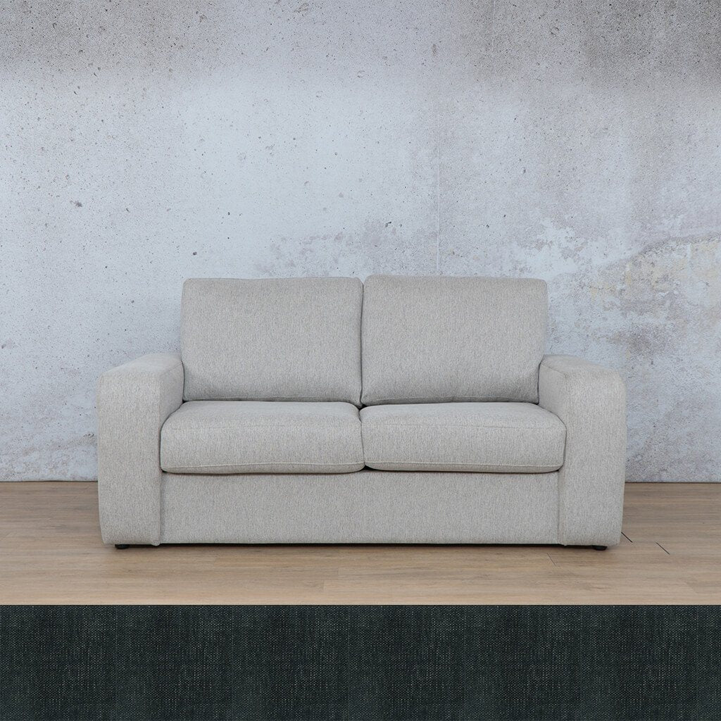 Stanford 2 Seater Fabric Sleeper Sofa