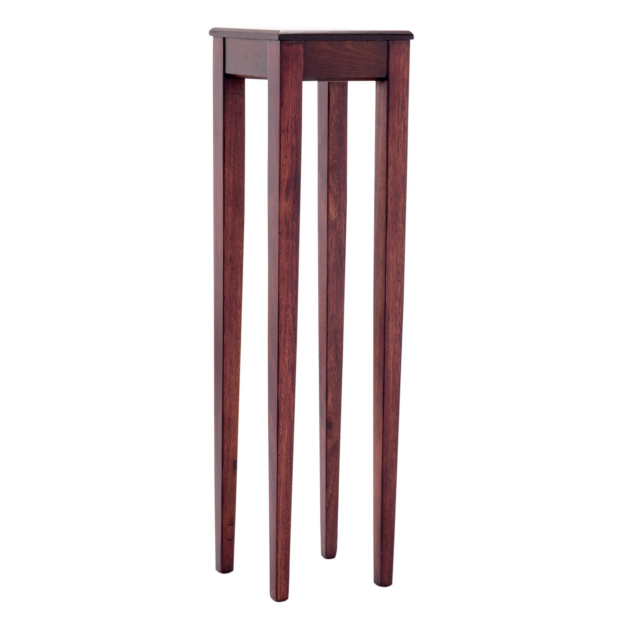 Ornament Stand | Deco | Walnut | Leather Gallery
