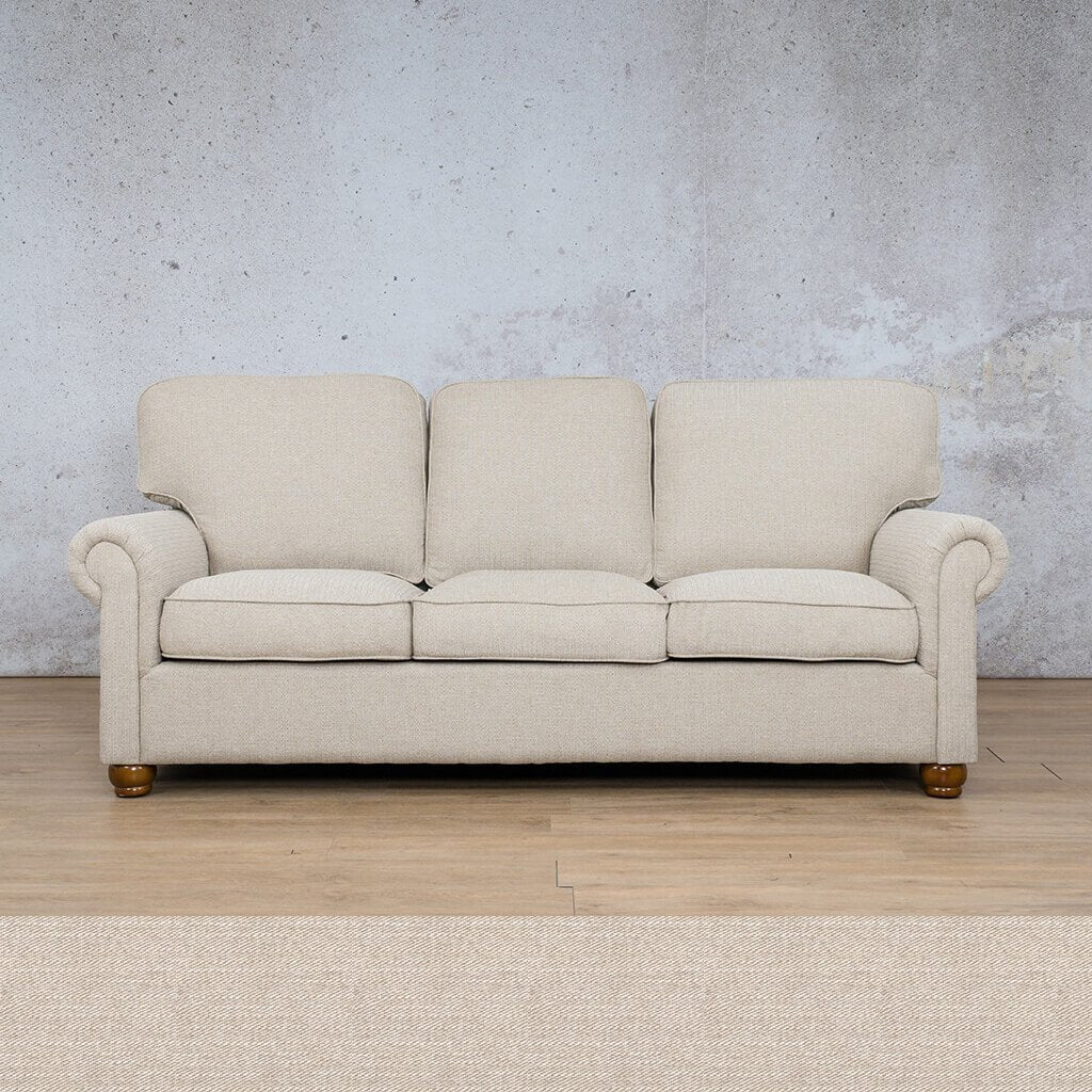 Salisbury Fabric Couch | 3 seater couch | Oyster | Couches for Sale | Leather Gallery Couches