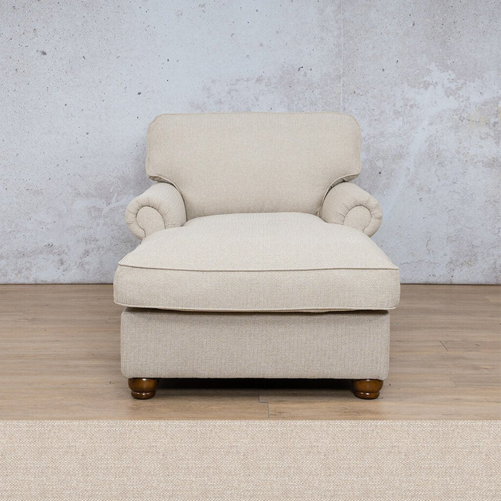 Salisbury Fabric Corner Couch | 2 Arm Chaise | Oyster | Couches For Sale | Leather Gallery Couches