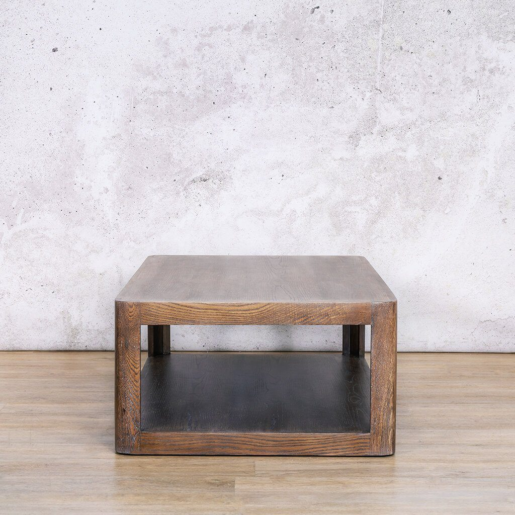Pecksniffian Rectangle Coffee Table - Antique Coffee