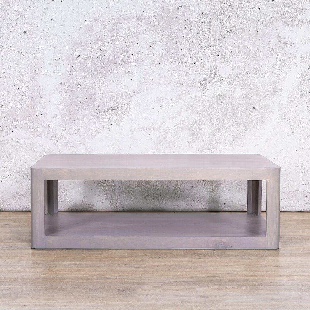 Pecksniffian Coffee Table | Rectangle | Leather Gallery