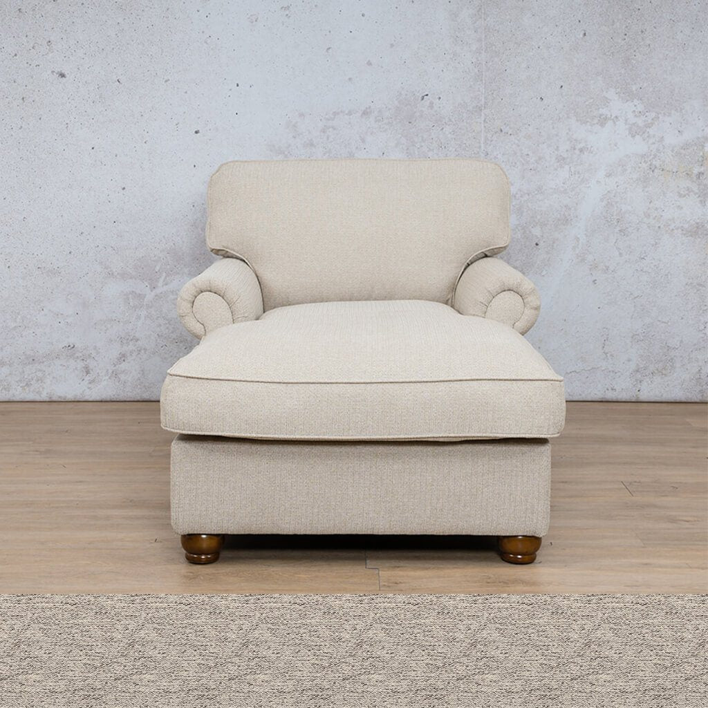 Salisbury Fabric Corner Couch | 2 Arm Chaise | Pebble | Couches For Sale | Leather Gallery Couches