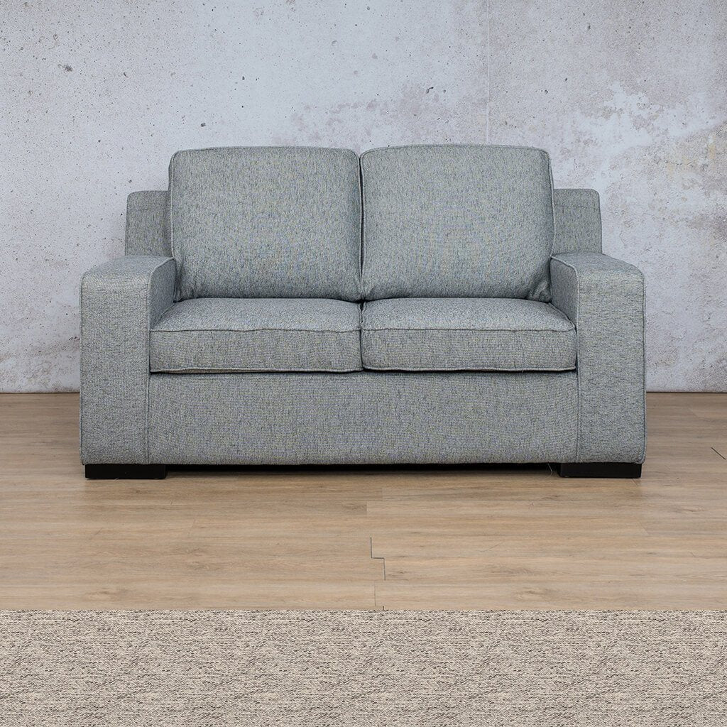 Arizona Fabric Couch | 2 seater couch | Pebble | Couches for Sale | Leather Gallery Couches