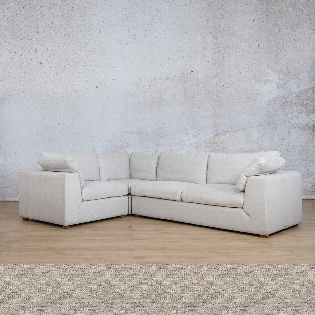 Skye Fabric L-Sectional 4 Seater - LHF