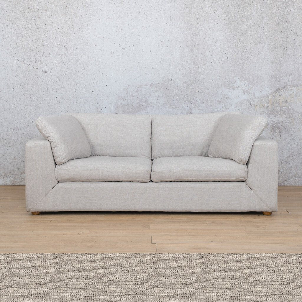 Skye Fabric Corner Couch | 3 Seater Couch | Pebble | Couches For Sale | Leather Gallery Couches