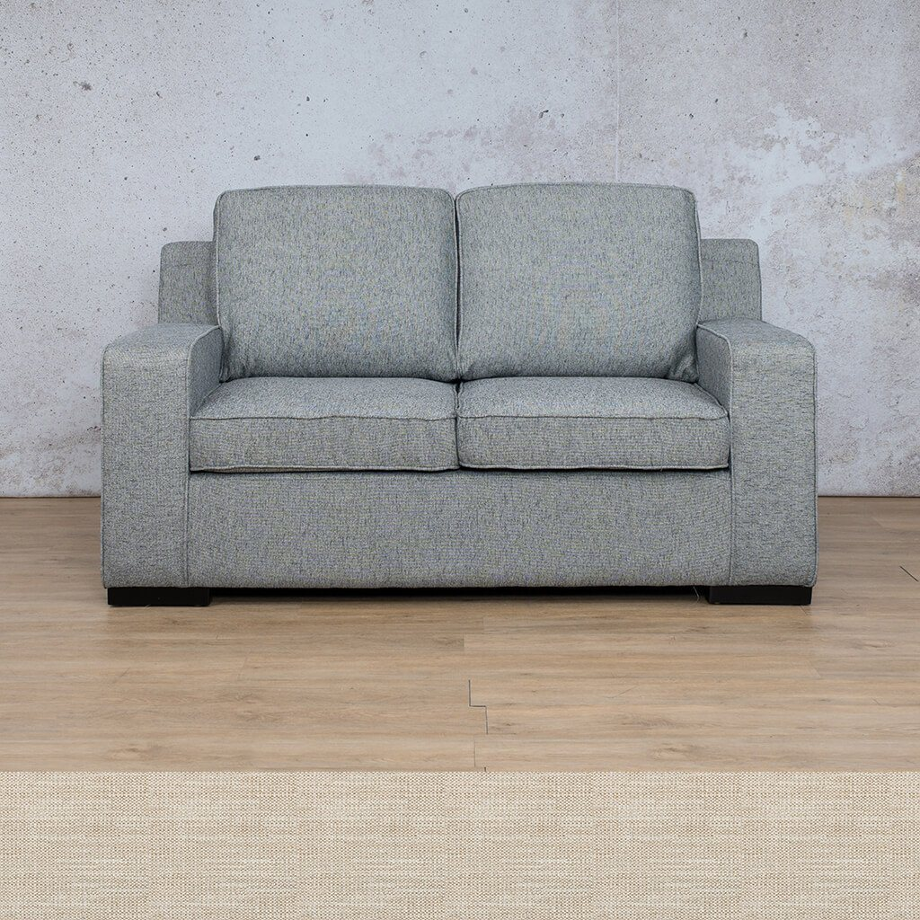 Arizona Fabric Couch | 2 seater couch | Prismatic | Couches for Sale | Leather Gallery Couches