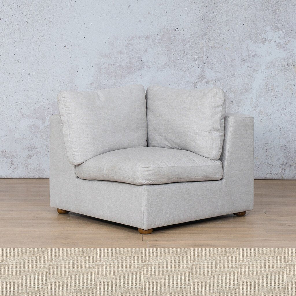 Skye Fabric Corner Couch | 1 Seater Couch | Prismatic | Couches For Sale | Leather Gallery Couches