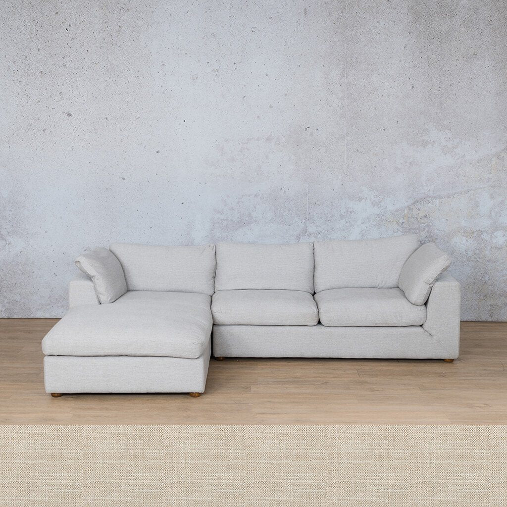 Skye Fabric Corner Couch | Chaise Sectional-LHF | Prismatic | Couches For Sale | Leather Gallery Couches