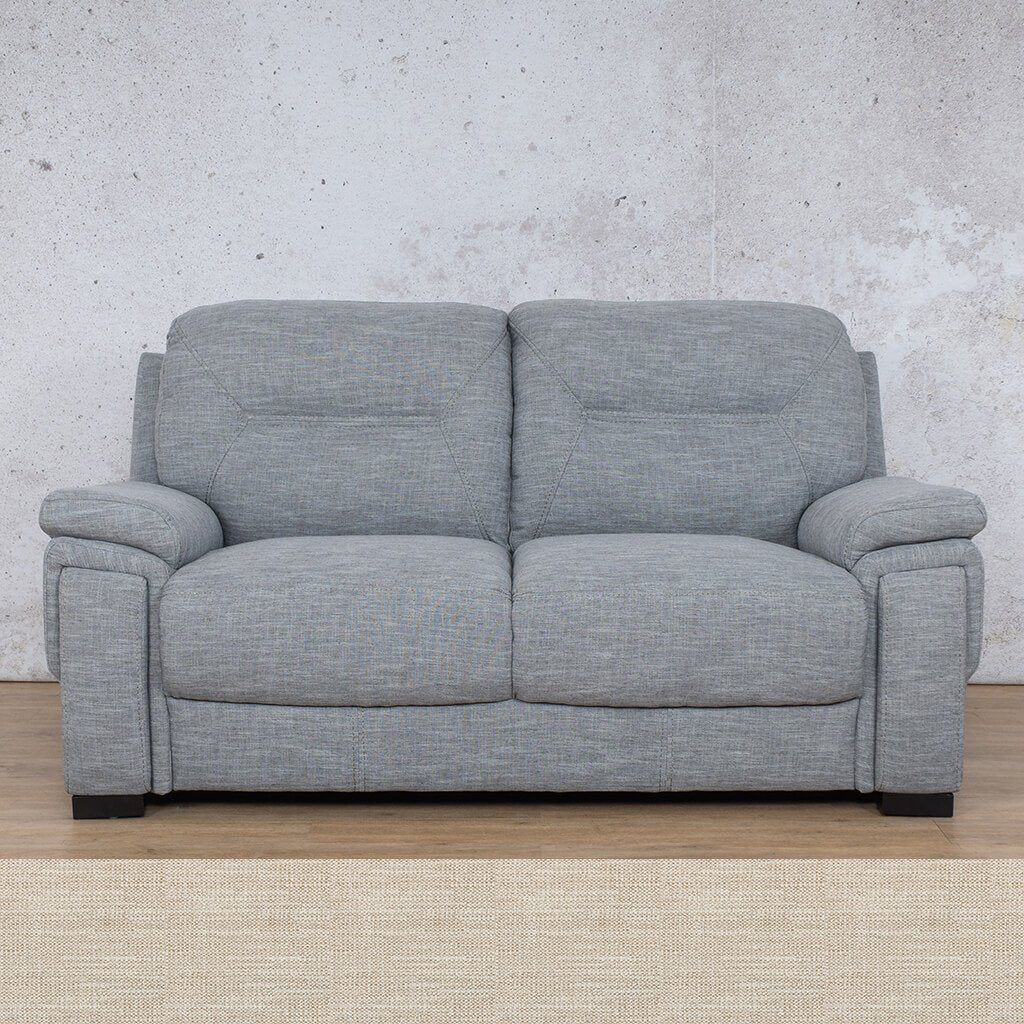 San Lorenze Fabric Couch | 2 seater couch | Prismatic | Couches for Sale | Leather Gallery Couches
