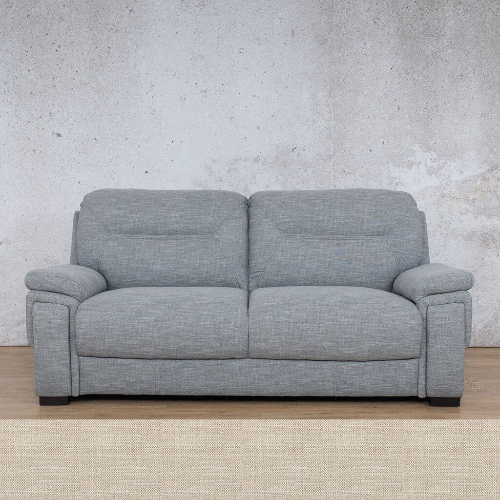 San Lorenze Fabric Couch | 3 seater couch | Prismatic | Couches for Sale | Leather Gallery Couches