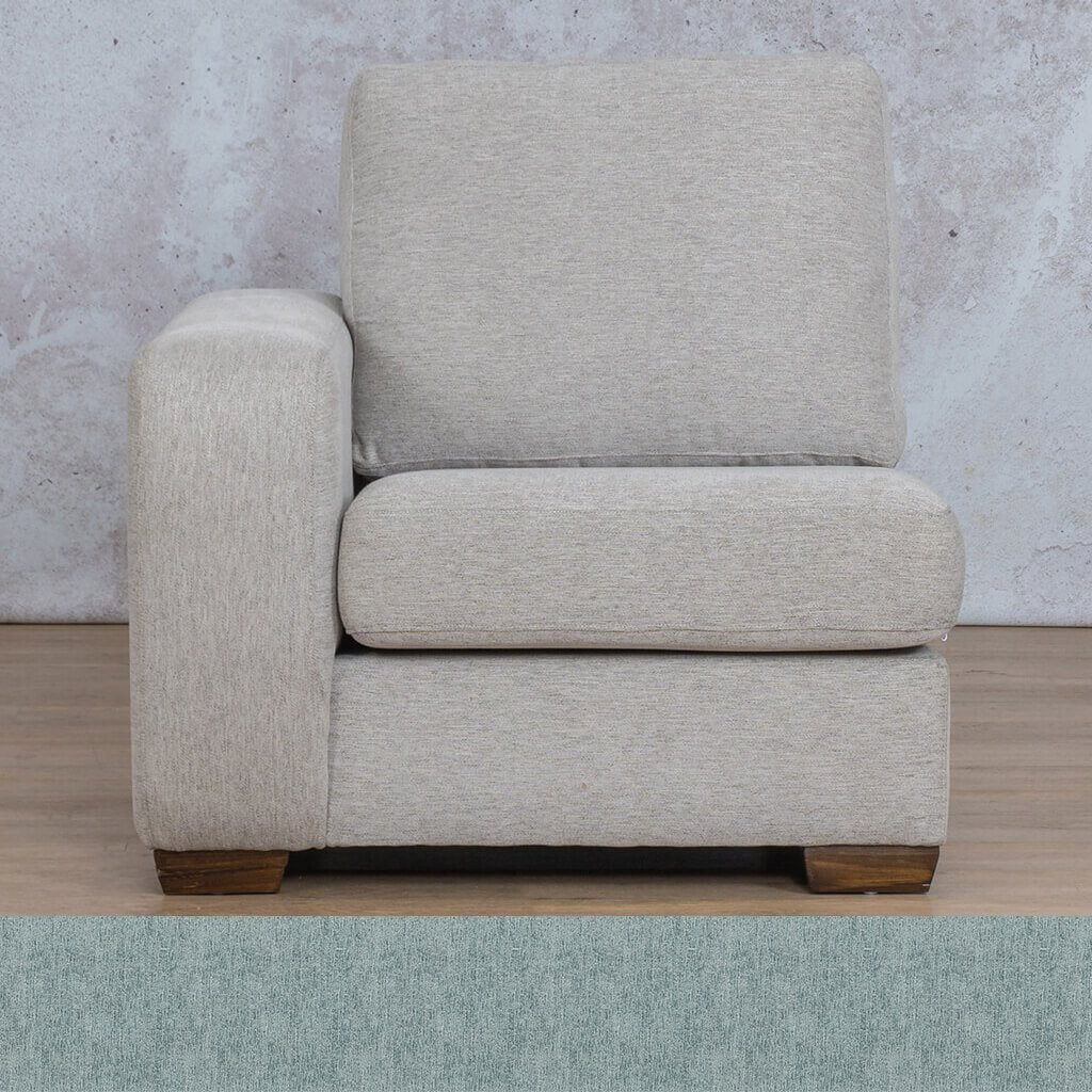 Stanford Fabric 1 Seater Right Arm