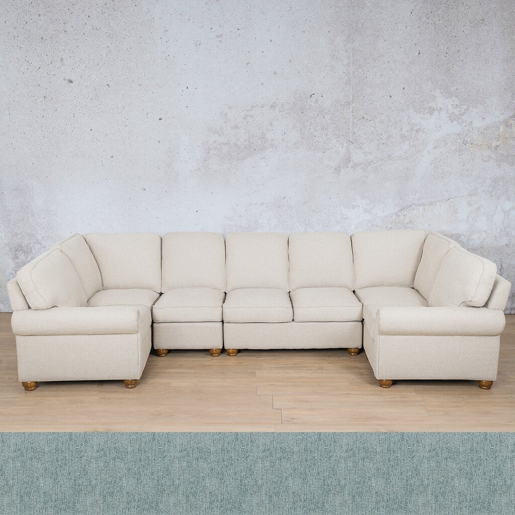 Salisbury Fabric Modular U-Sofa Sectional Sofa
