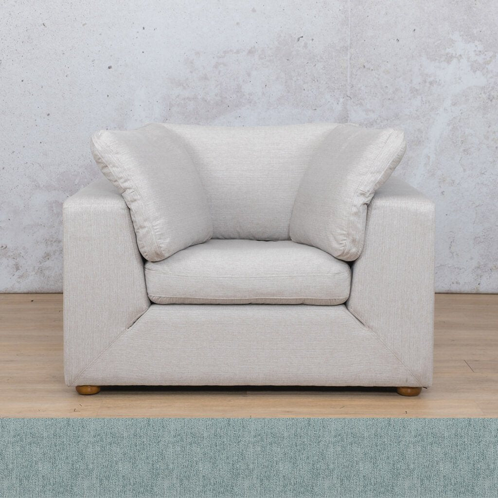Skye 1 Seater Fabric Sofa