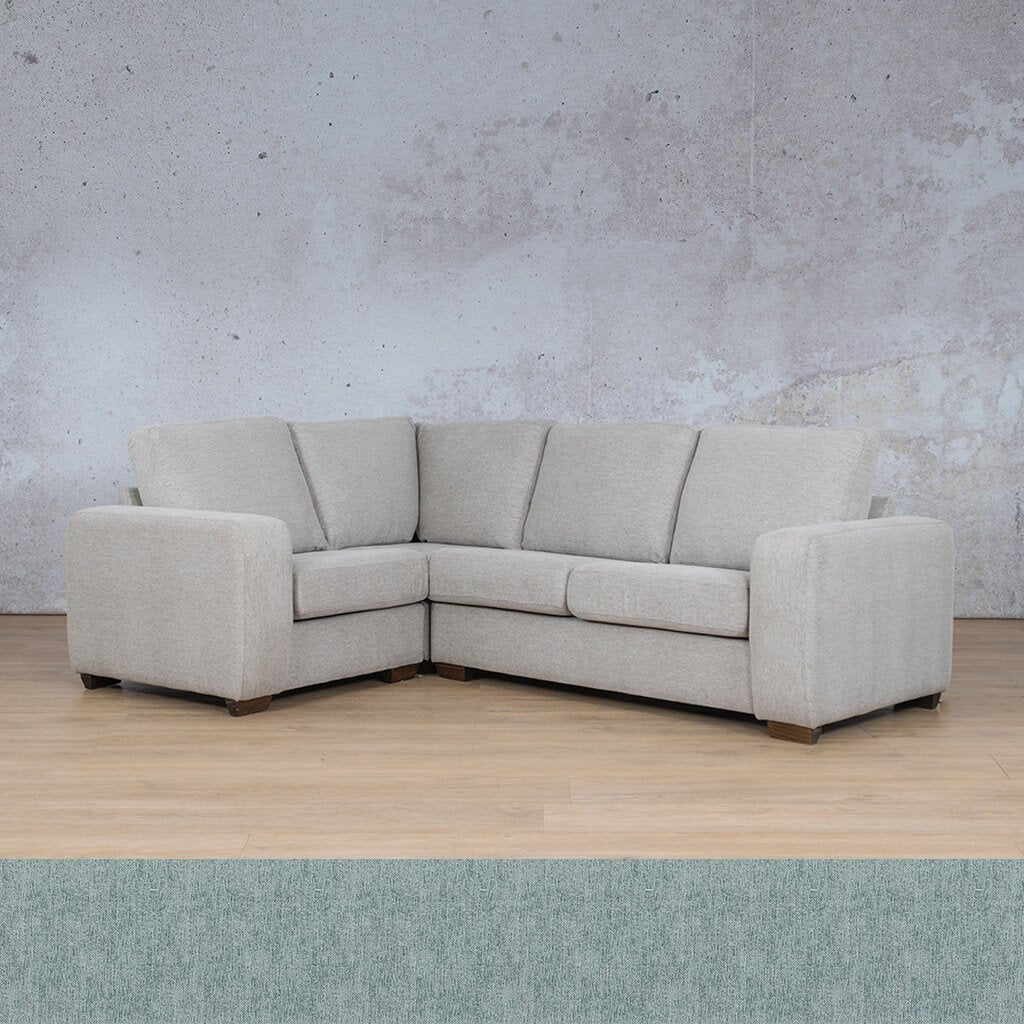 Stanford Fabric Corner Couch | L-Sectional 4 Seater Couch-LHF | Quail Shell | Couches For Sale | Leather Gallery Couches